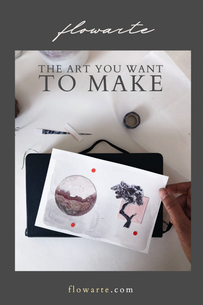 The Art you Want to Make - Blog Post Image