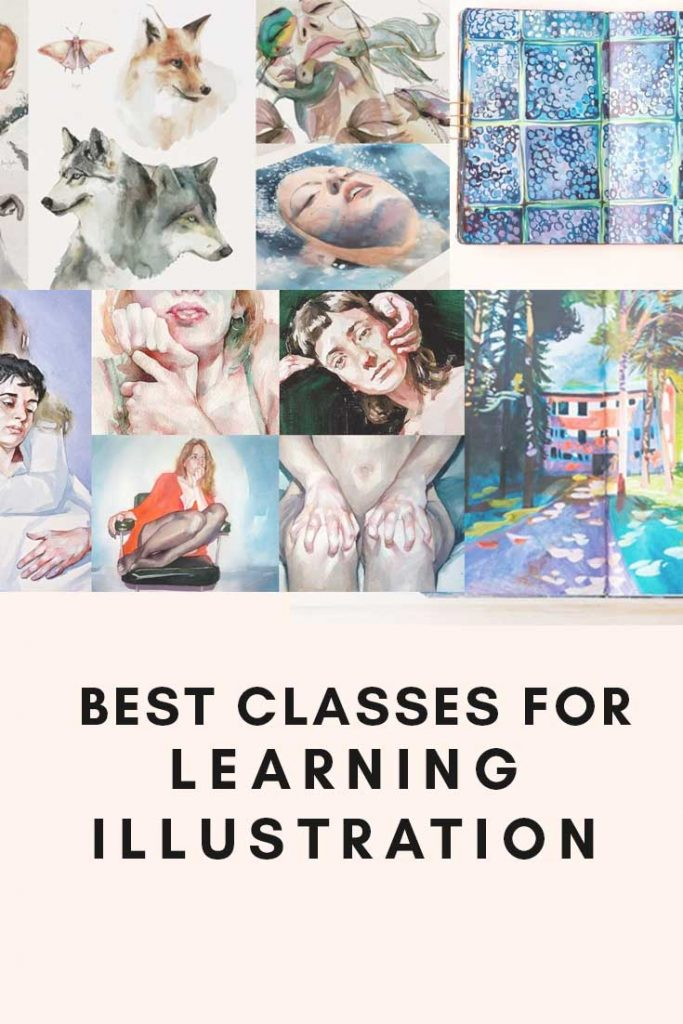 Best classes for learning illustration graphic
