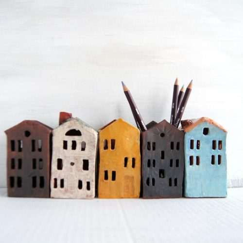 House Pencil Holders